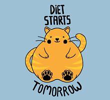 Diet Starts Tomorrow - Blue Unisex T-Shirt