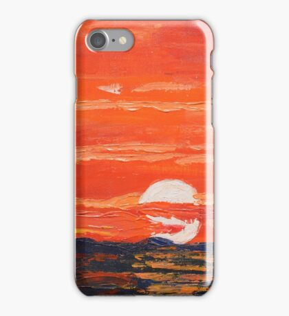 Disappearing Sunset iPhone Case/Skin