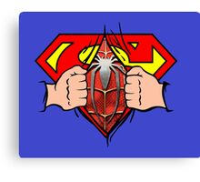 Superman logo  Canvas Print