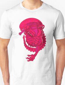 Pink Alien Xenomorph T-Shirt