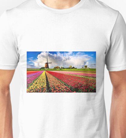 BULBS FIELDS Unisex T-Shirt
