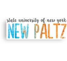SUNY New Paltz Canvas Print