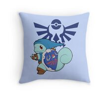 Hylian Squirtle Throw Pillow