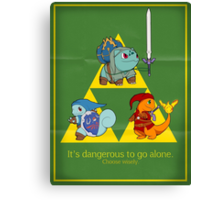 Hylian Squirtle Canvas Print