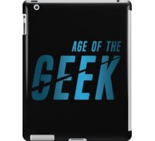 Age of the Geek iPad Case/Skin