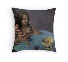Boggled Throw Pillow