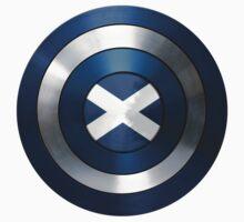 CAPTAIN SCOTLAND - Captain America inspired Scottish shield Kids Tee