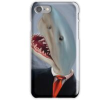 Mr. Shark Head iPhone Case/Skin