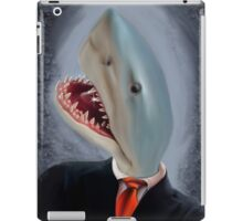 Mr. Shark Head iPad Case/Skin