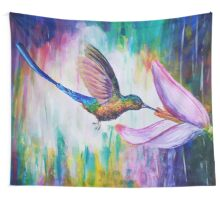 Hummingbird Wall Tapestry