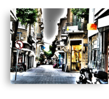 city's style Canvas Print