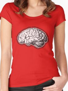 Brain. The Most Complex Machine in the Universe. Women's Fitted Scoop T-Shirt
