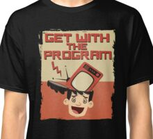 Get With The Program Anti-Television T Shirt Classic T-Shirt
