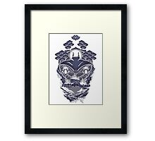 Mantra Ray Framed Print
