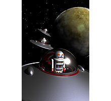 ROBOT - 7 Saucers Photographic Print