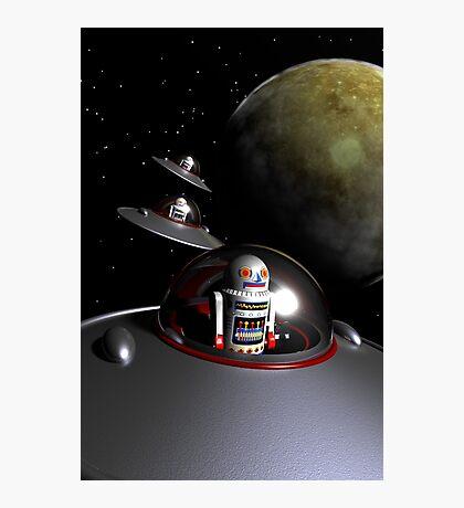 ROBOT - 7 Saucers Photographic Print
