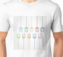 Phone music Unisex T-Shirt