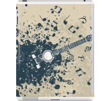 Retro a guitar iPad Case/Skin