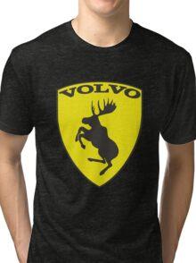 Volvo Prancing Moose Emblem Tri-blend T-Shirt