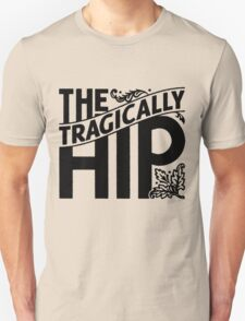 THE TRAGICALLY HIP - Artist logo black color summer tour 2016 Unisex T-Shirt