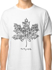 THE TRAGICALLY HIP - typography edition black summer tour 2016 Classic T-Shirt