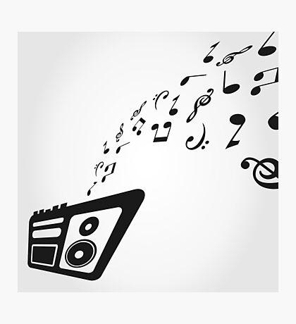Tape recorder Photographic Print