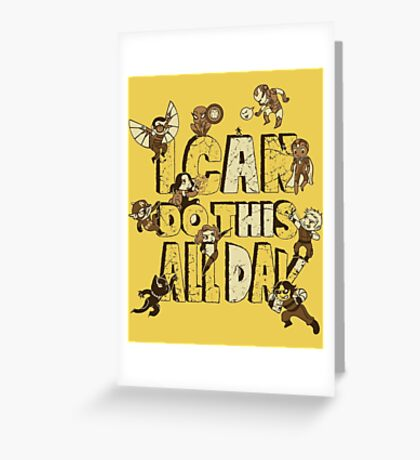I can do this Greeting Card