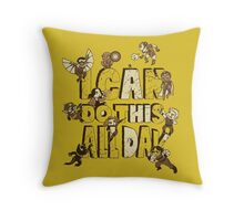I can do this Throw Pillow