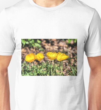 Icelandic Poppies Unisex T-Shirt