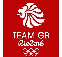 Rio 2016 Team GB Photographic Print