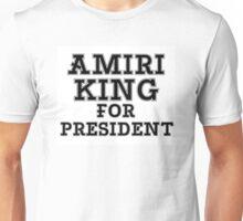 AMIRI KING FOR PRESIDENT Unisex T-Shirt
