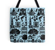 Chas Style Collage Tote Bag