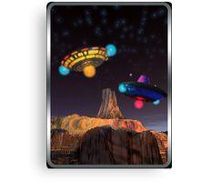 CE3K UFOs V2 Canvas Print