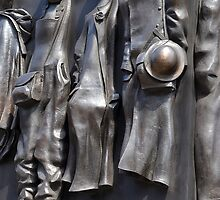 Memorial to the Women of WWII, London by crashbangwallop