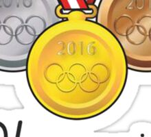 Olympics Medals Sticker
