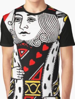 KING OF HEARTS-LARGE Graphic T-Shirt