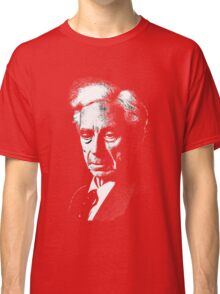 Bertrand Russel drawing Classic T-Shirt