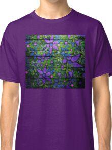 Trendy Floral Pattern Vintage Classic T-Shirt