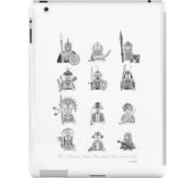 All Warriors iPad Case/Skin