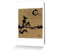 I Wish I Was The Moon Greeting Card