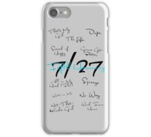 Fifth Harmony Song Titles Design  iPhone Case/Skin