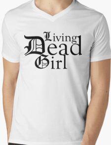 Living Dead Girl Mens V-Neck T-Shirt