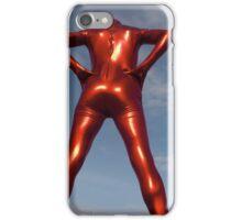 Candy Apple Red Zentai Man 6 iPhone Case/Skin