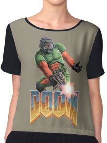DOOM SPACE MARINE (2) Chiffon Top
