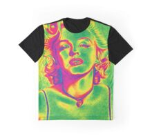 Marilyn Monroe Psychedelic Mode Graphic T-Shirt
