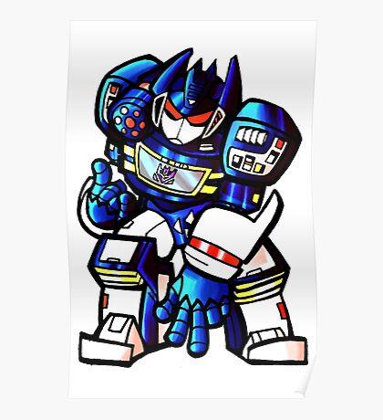 Transformers Soundwave Poster