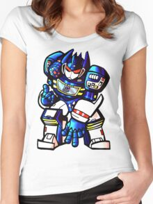 Transformers Soundwave Women's Fitted Scoop T-Shirt
