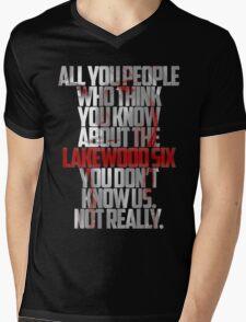 Brooke Maddox MTV Scream (black & white) T-Shirt