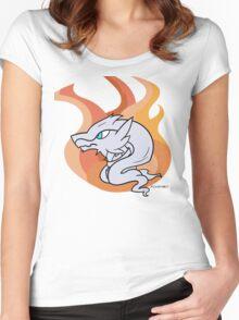 Reshiram - Legendary Pokemon Women's Fitted Scoop T-Shirt