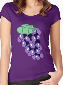 Grapes Women's Fitted Scoop T-Shirt